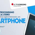 Altroconsumo vi offre l'abbonamento alla rivista e uno smartphone a soli 2€