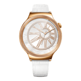 Huawei Watch Elegant in bianco perla