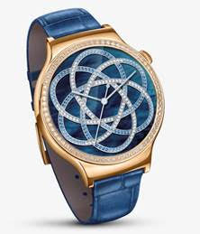 Huawei Watch Jewel in blu zaffiro