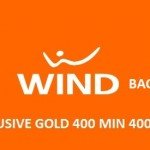 Ritorna Wind All Inclusive Gold: 400 minuti, 400 SMS e 5GB a 6€