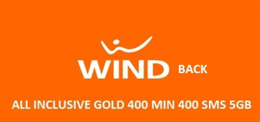 Ritorna la Wind All Inclusive a 6 euro