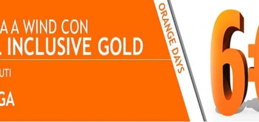 Per gli Orange Days ritorna All Inclusive Gold