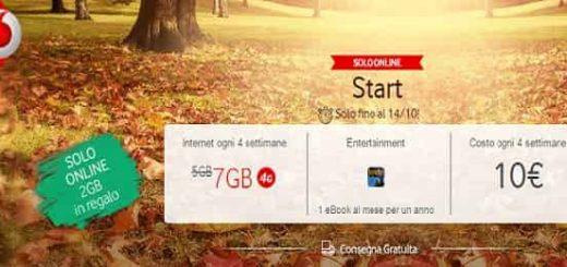 Vodafone Giga Start a soli 10€