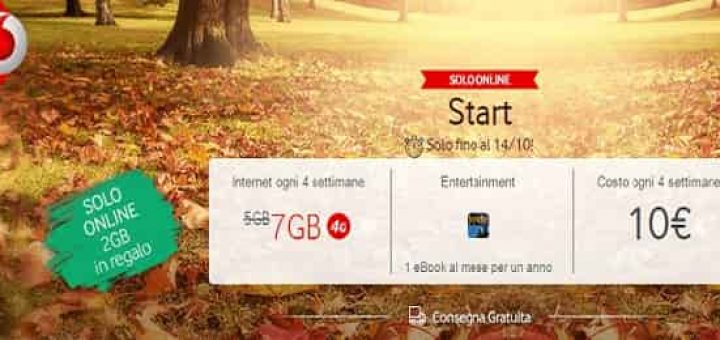 Vodafone Giga Start a soli 10€